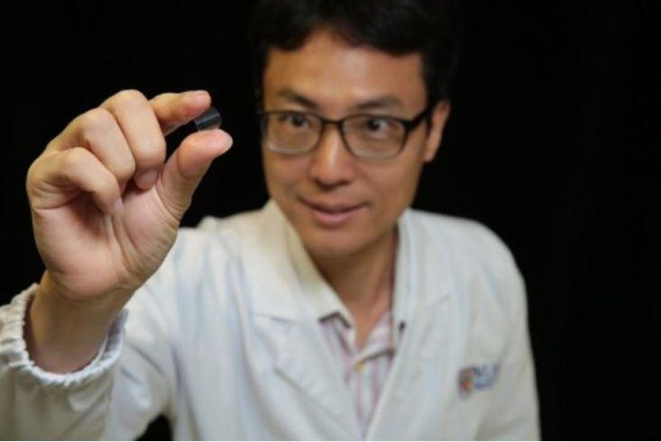 柔性塑料磁存储芯片